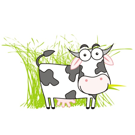 Cow Illustration Stock Illustratie