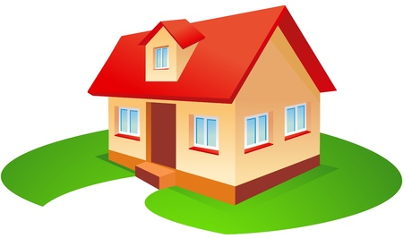 Haus Illustration Standard-Bild - 11094567