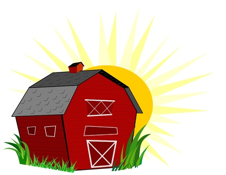Barn Stock Vector - 11663838