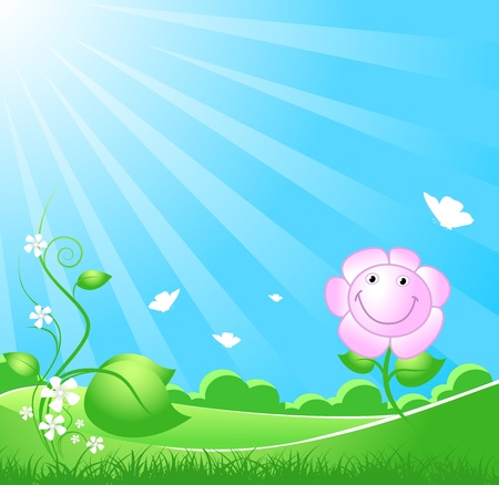 Spring Background Stock Illustratie