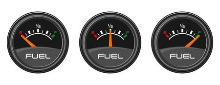 Auto Meters Stock Illustratie