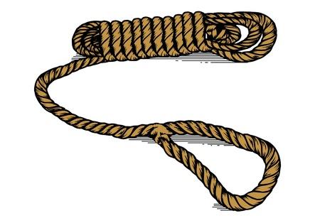 Rope Line Illustration