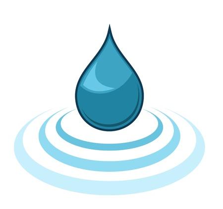 Gota de agua Foto de archivo - 12153309