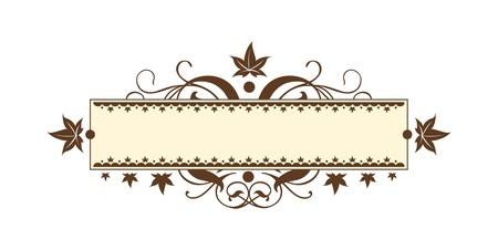 Vintage Scroll Stock Vector - 15852357