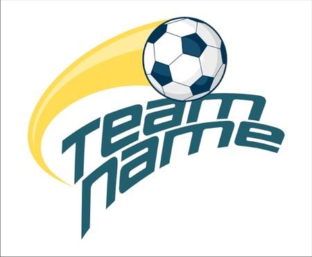 Soccer Ball Swoosh Illustration