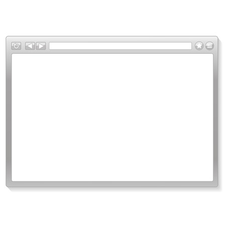 browser window vector illustration