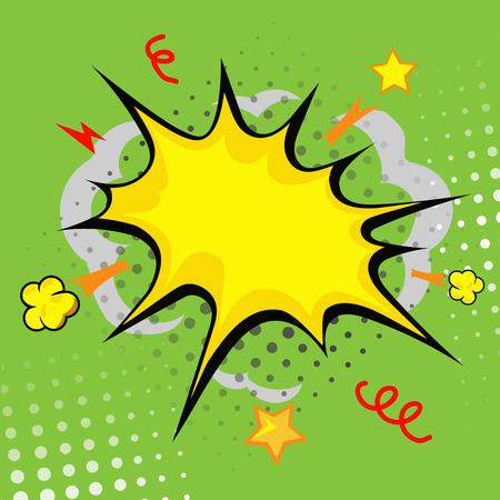 nuke: cartoon bang cartoon - boom, comic book explosion