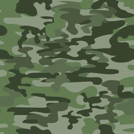 camuflaje: Modelo inconsútil del camuflaje en verde Vectores