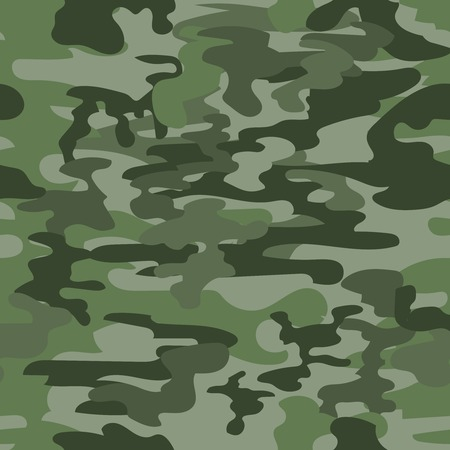 camouflage: Seamless camouflage  pattern in green