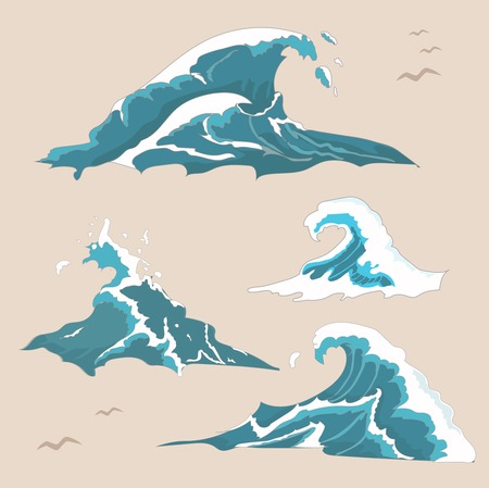 Wave ocean and sea Collection