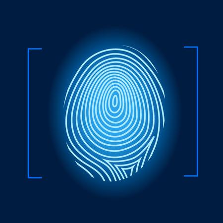 dactylogram: Fingerprint vector