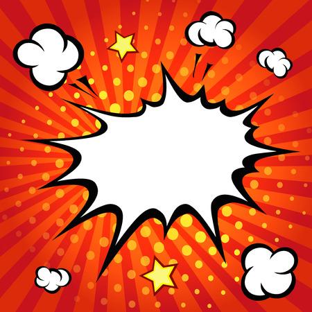 pelea: Burbuja de di�logo c�mico, c�mic backgound