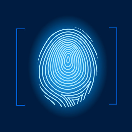 Fingerprint  Banque d'images - 40027143