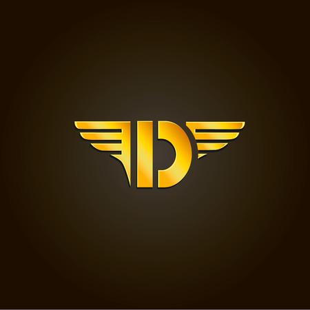 d: Letter D.