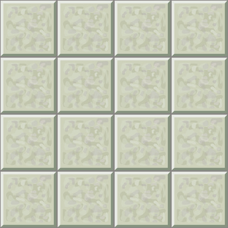 tiles: Marble ceramic tile gray floor seamless pattern Illustration