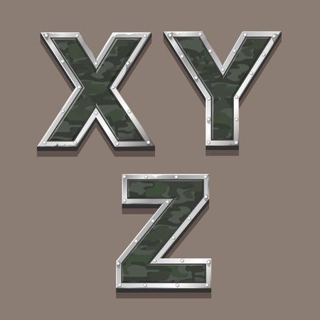 titanic: Military letters alphabet