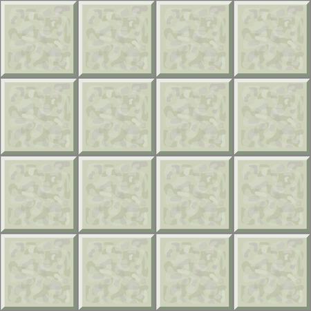 ceramic tile: Marble ceramic tile gray floor seamless pattern.  illustration