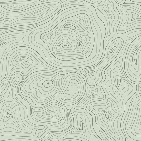 elevation: Earth relief map seamless pattern element. Generated conceptual elevation vector illustration .