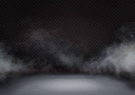 Cloud or mist texture on floor or ground. 向量圖像