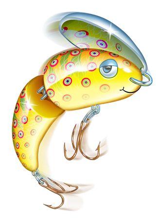 fishing lure Banco de Imagens - 6272842