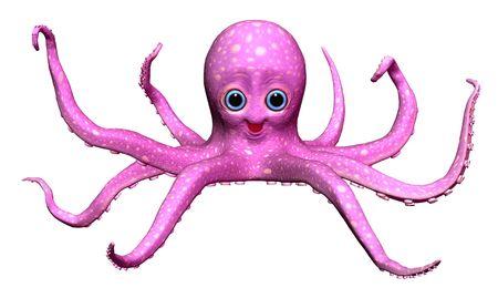octopus Reklamní fotografie - 6272843