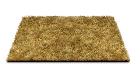 Welkom deurmat tapijt op een witte die het concept van begroeten nieuwe ideeën en mensen om een huis of op de drempel van een bedrijf.