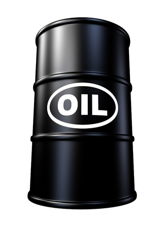 oil drum: Oil barrels and drum containers representing the gasoline energy and fossil fuel industry.