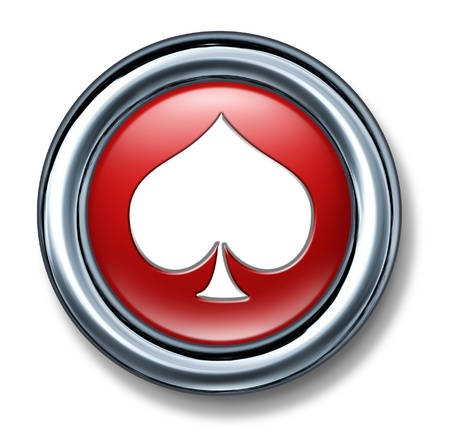 button web internet isolated gambling betting offshore bet playing cards online