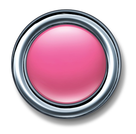 dainty: button pink dainty girls candy color isolated