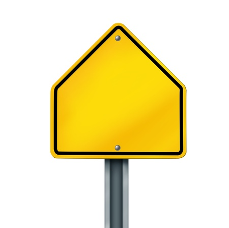 road sign street warning yellow crossing blank frame isolated photo