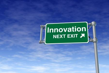 risks ahead: invenci�n de innovaci�n inventiva creativa calle autopista se�al de tr�fico de se�alizaci�n de las nubes v�a verde