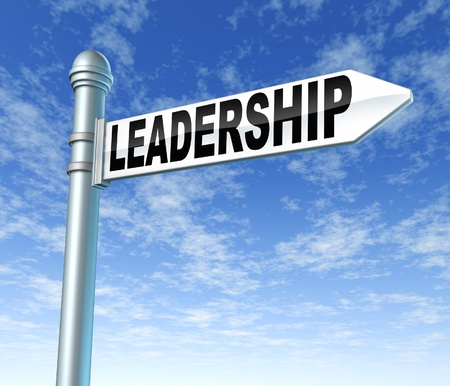 directing: leadership business symbol presentation guidance strategy planning success street sign