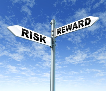risk and reward signpost