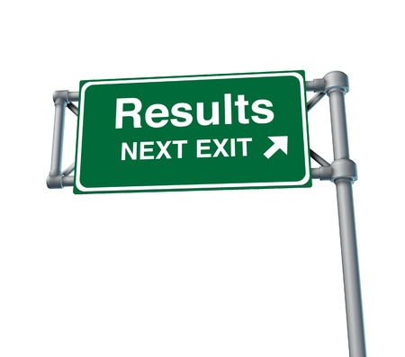 solutions freeway: Results Freeway Exit Sign highway street symbol green signage road symbol Stock Photo