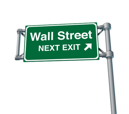 Wall Street business stock market exchange business symbol financial Stock Photo - 11382029