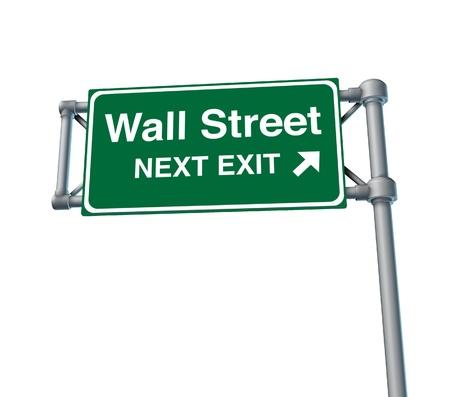 stock market exchange: Wall Street business stock market exchange business symbol financial Stock Photo
