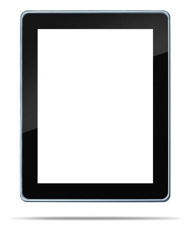 흰색 배경 음악 전자 책 영화와 인터넷 검색을위한 디지털 콘텐츠 유통을위한 미디어 도구의 컴퓨팅 기술 개념의 그림자 기호 전자 가제트와 같은 빈
