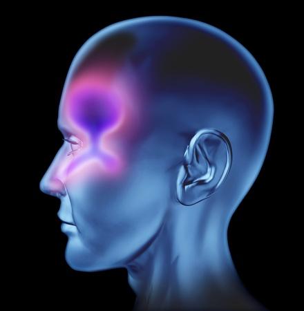 nosa: Human resperatory nosa związane zimnej i oskrzeli i kaszlu grypy influenze spowodowane wspólnej infekującego wirusa zimnej zielony śluz i buduje w gardle nosa i uszu ciała systemu medycznej odwadniania na białym tle.