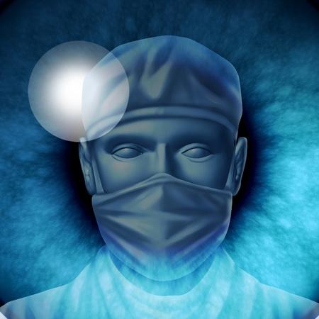 eye ball: La cirug�a del ojo para tratar la eliminaci�n de cataratas o glaucoma enfermedad por un m�dico y cirujano especializado con herramientas l�ser o tradicional de explotaci�n, mostrando un primer plano og un globo ocular con un hospital de profesionales en la reflexi�n del alumno. Foto de archivo