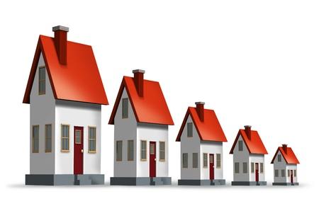 house prices: Housing market decline