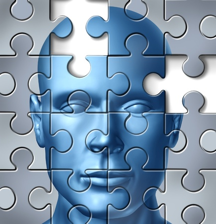 Human brain research and memory loss and alzheimer