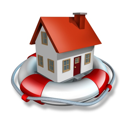 Haus Versicherungs-und Hauseigentümer Schutz vor Hypothekenzinsen Refinanzierung durch eine Zahlung von Darlehen Plan oder eine Immobilie, Immobilien finanzielle und strukturelle Risiko-Management und Sicherheit vor Gefahren wie Überschwemmungen Feuer und Einbruch haben.