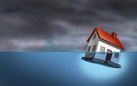 ahogandose: La crisis inmobiliaria
