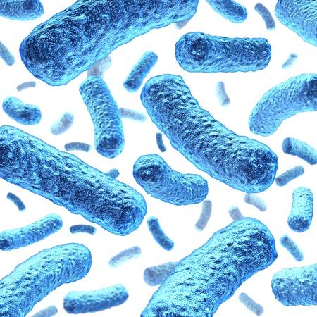 monella: Bacteria c�lulas y las bacterias que flotan en el espacio microsc�pico