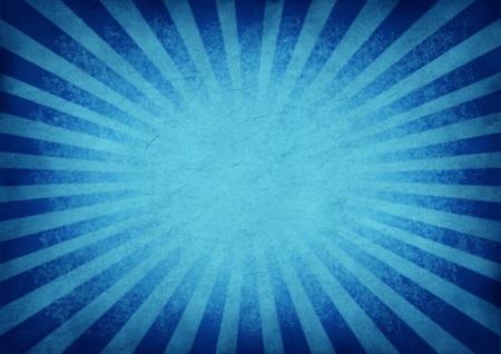 hintergr�nde: Retro explodiert blue star Burst oder Sonnenstrahl Hintergrund in einem alten grunge Jahrgang Textur als Design-Element mit einem leeren Bereich