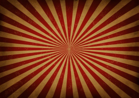 Retro grunge radial star burst or sun beam antique background  Stock Photo