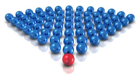 납 등의 그룹의 주장 다음과 흰색 배경에 비즈니스 관계를 학습 영역의 상징으로 팀워크 관리 감독 가이드와 함께 팀 리더 개념으로 파워 리더십
