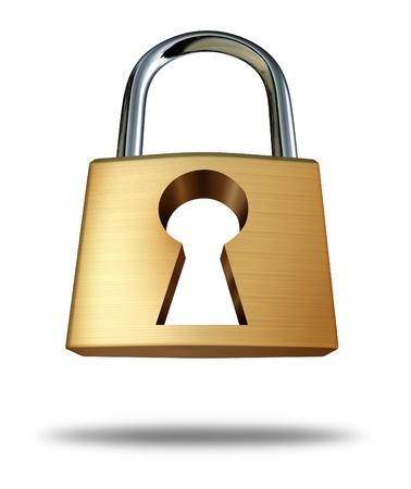seguridad social: De bloqueo de seguridad con el ojo de la cerradura como un símbolo de seguridad y el icono de privacidad que muestra el concepto de protección contra piratas y virus informáticos en la era de Internet de la tecnología de las redes sociales en blanco