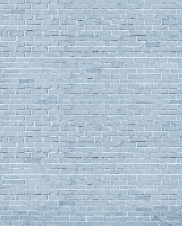 old brick wall: White brick wall with cement grout as a rustic old grey stone architectural design element and a rough outdoor building structure textured background  Stock Photo