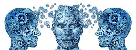 formacion empresarial: Formaci�n empresarial y el s�mbolo corporativo de gesti�n de los programas de educaci�n